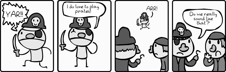 Playing Pirates