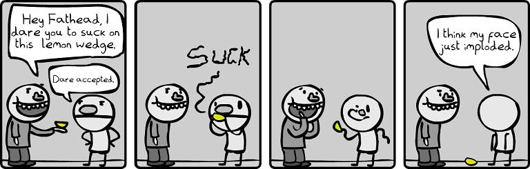 Fathead vs The Lemon
